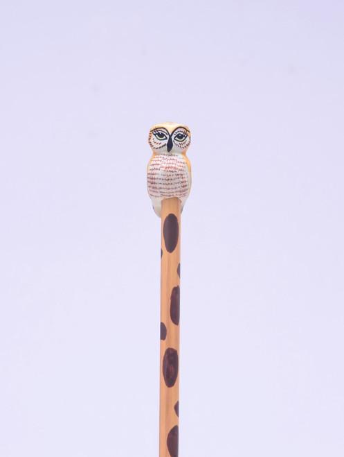 Elf Owl Hand Made Pencil