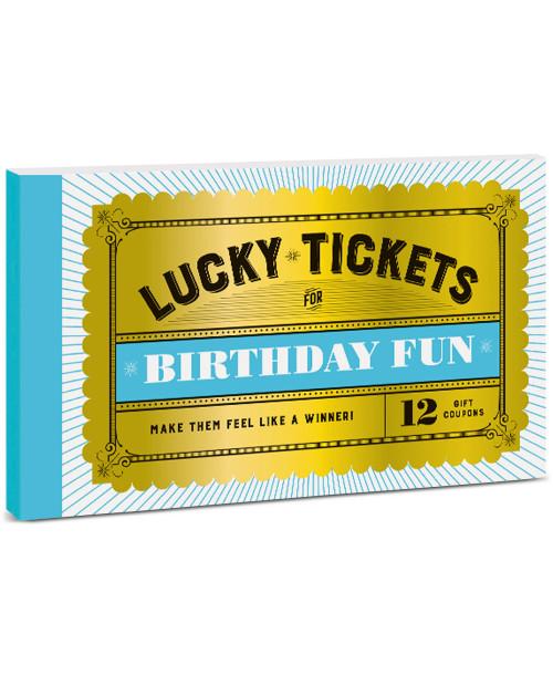 Lucky Tickets for Birthday Fun