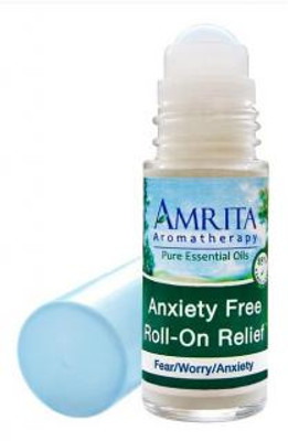 Amrita Aromatherapy Anxiety Free Roll-On Relief 1 fl oz