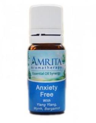Amrita Aromatherapy Anxiety Free Synergy Blend 10 mL