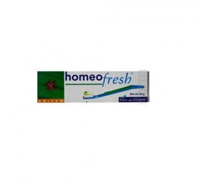 UNDA Homeofresh Toothpaste (Anise) 2.5 oz (75 ml) tube