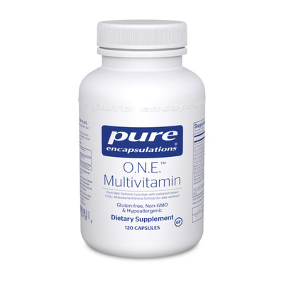 Pure Encapsulations O.N.E. Multivitamin 120 capsules