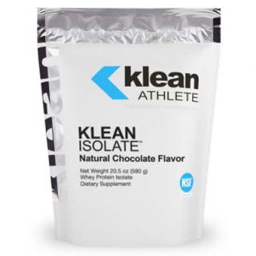 Douglas Labs Klean Athlete Isolate Natural Chocolate flavor 20.5 oz 580 gms