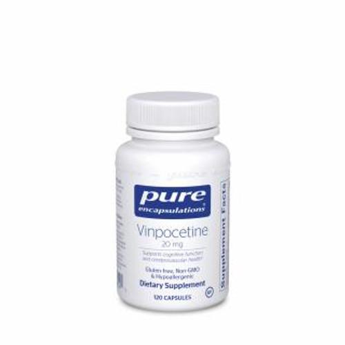Pure Encapsulations Vinpocetine 20 Mg. 120 capsules