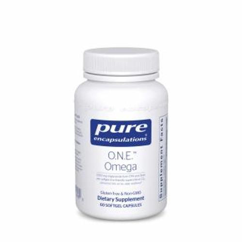 Pure Encapsulations O.N.E. Omega 60 capsules