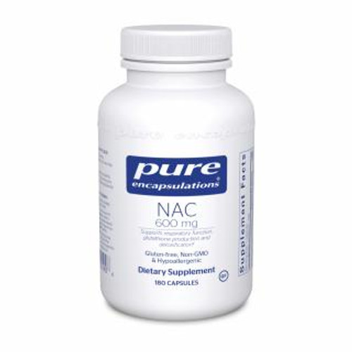 Pure Encapsulations NAC 600 Mg. 180 capsules