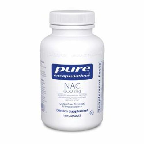 Pure Encapsulations NAC 600 Mg. 180 capsules