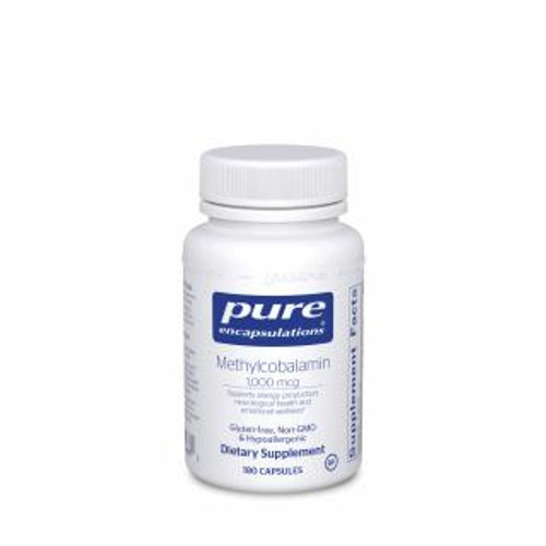 Pure Encapsulations Methylcobalamin 180 capsules