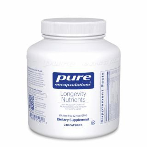 Pure Encapsulations Longevity Nutrients 240 capsules