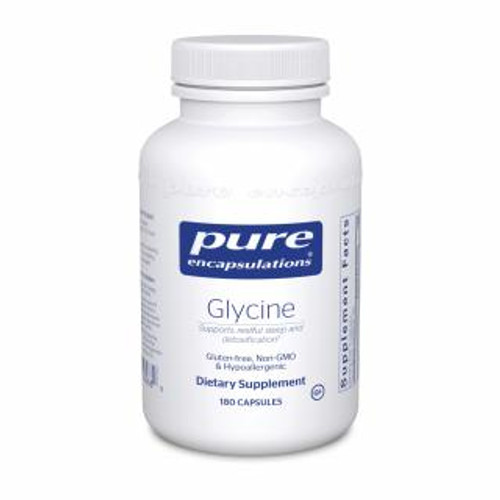 Pure Encapsulations Glycine 180 capsules