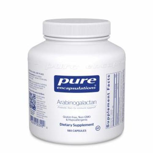 Pure Encapsulations Arabinogalactan 180 capsules