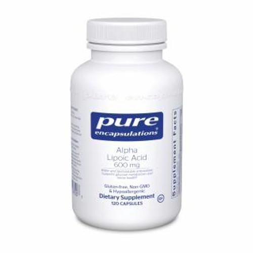 Pure Encapsulations Alpha Lipoic Acid 600 Mg.120 capsules