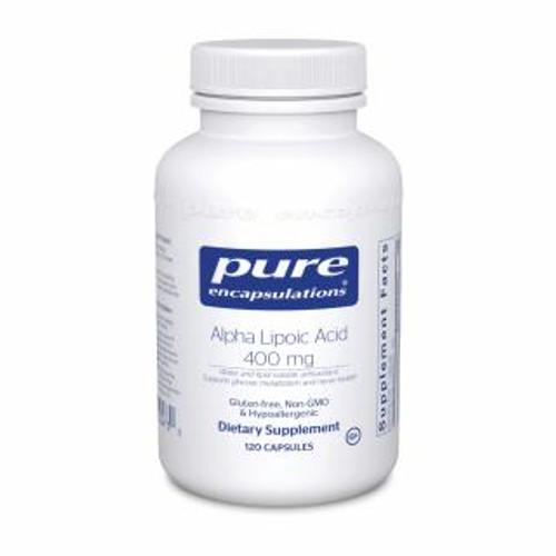 Pure Encapsulations Alpha Lipoic Acid 400 Mg 120 capsules