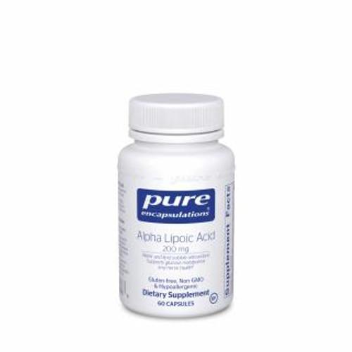 Pure Encapsulations Alpha Lipoic Acid 200 Mg. 60 capsules