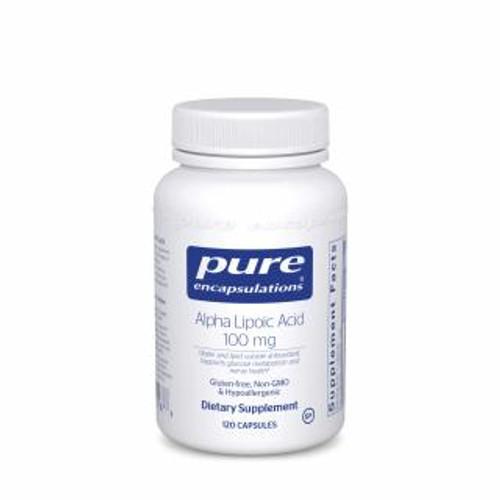 Pure Encapsulations Alpha Lipoic Acid 100 Mg.120 capsules