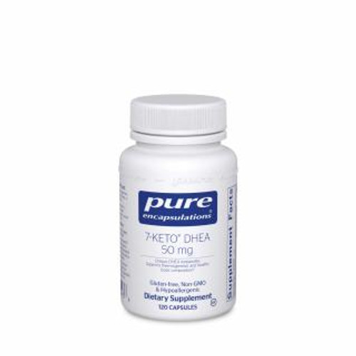 Pure Encapsulations 7-Keto DHEA 50 Mg. 120 capsules