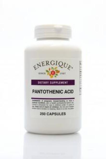 Energique PANTOTHENIC ACID 250 Capsules