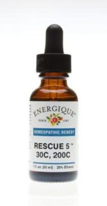 Energique RESCUE 5 30C-200C Flower Essence 1 oz