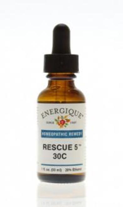 Energique RESCUE 5 30C Flower Essence 1 oz