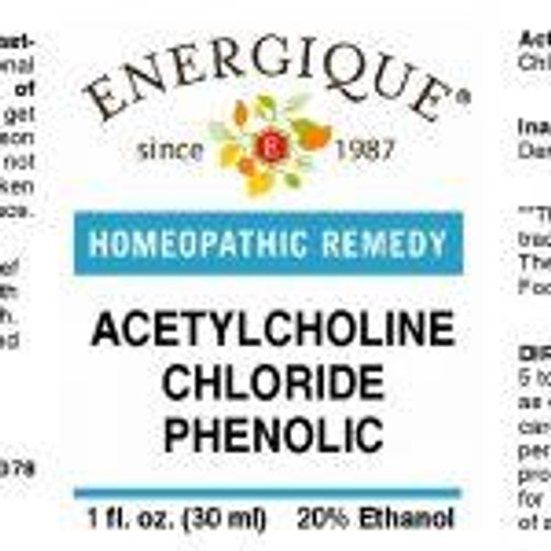 Energique ACETYLCHOLINE CHLOR PHEN1 oz