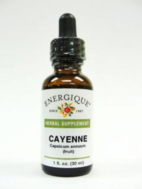 Energique CAYENNE 90M Fruit 1 oz Herbal