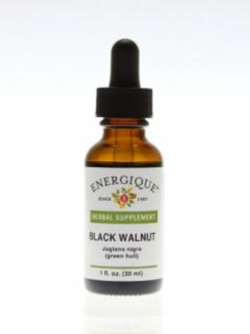 Energique BLACK WALNUT Green Hull 1 oz Herbal