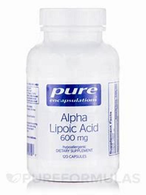 Pure Encapsulations Alpha Lipoic Acid 600 mg 60 vcaps