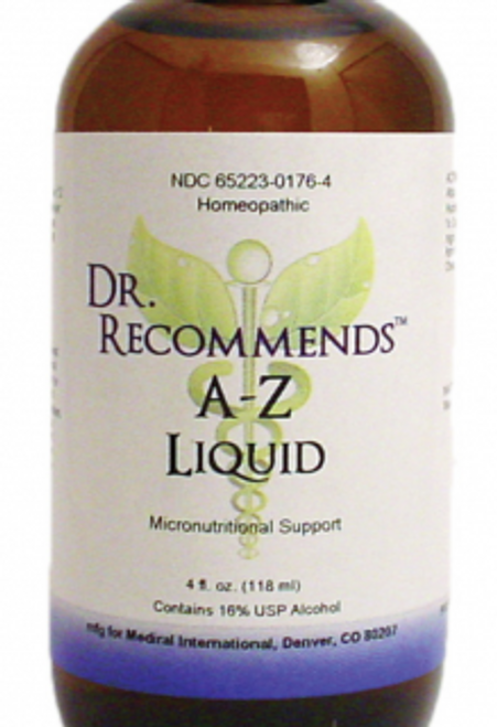 Dr. Recommends A-Z Liquid 4 oz