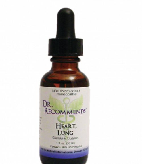 Dr. Recommends Heart Lung 1 oz