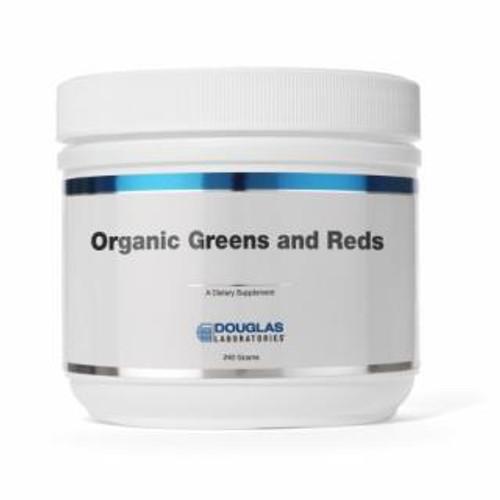 Douglas Labs Organic Greens & Reds Powder 240 gms