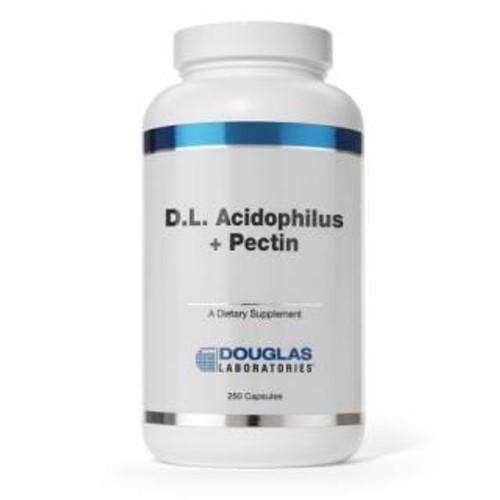 Douglas Labs D.L. Acidophilus + Pectin 250 capsules