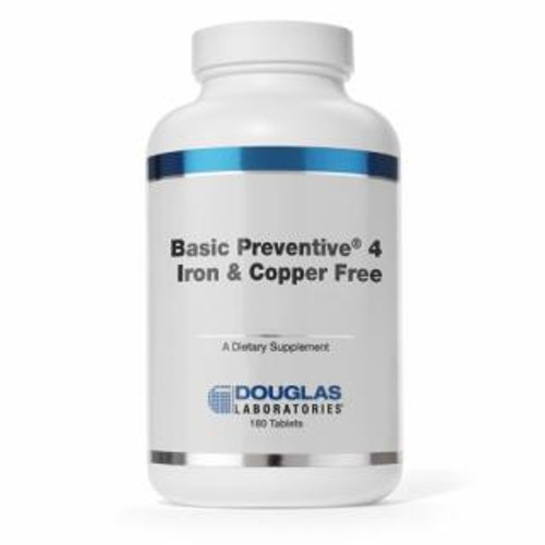 Douglas Labs Basic Preventive 4 (iron & copper free) 180 tabs