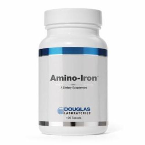 Douglas Labs Amino-Iron 18 mg 100 tabs