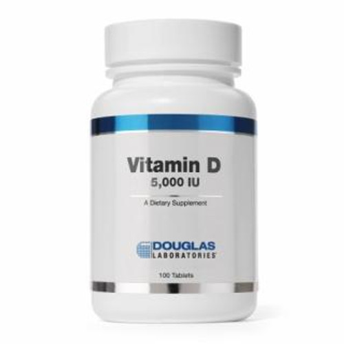 Douglas Labs Vitamin D 5,000 IU 100  tabs