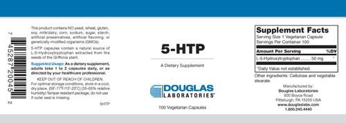 Douglas Labs 5 HTP 50 mg 100 capsules