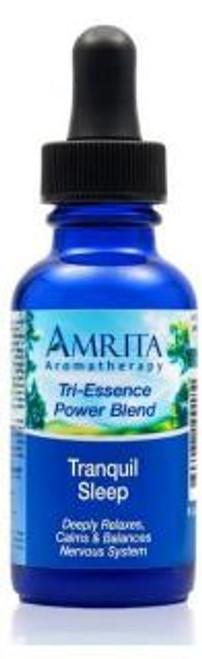 Amrita Aromatherapy Tranquil Sleep Tri-Essence Power Blend 1 oz