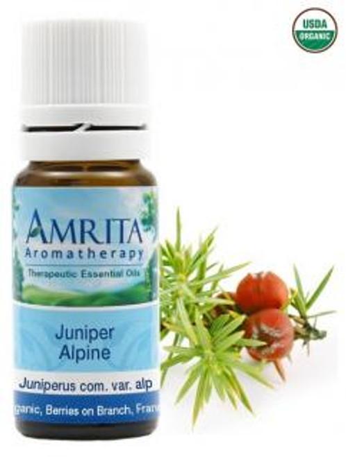 Amrita Aromatherapy Juniper Alpine Organic Essential Oil 5 ml
