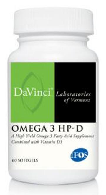 Davinci Labs OMEGA 3 HP-D 60 soft gels