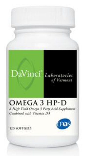 Davinci Labs OMEGA 3 HP-D 120 soft gels