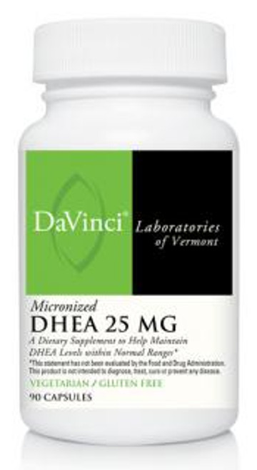 Davinci Labs Micronized DHEA 25MG 90 capsules