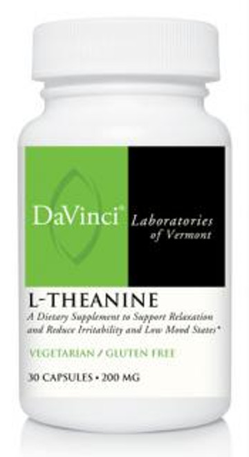 Davinci Labs L-THEANINE 200 mg 30 capsules