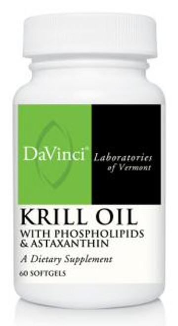 Davinci Labs KRILL OIL 60 softgels