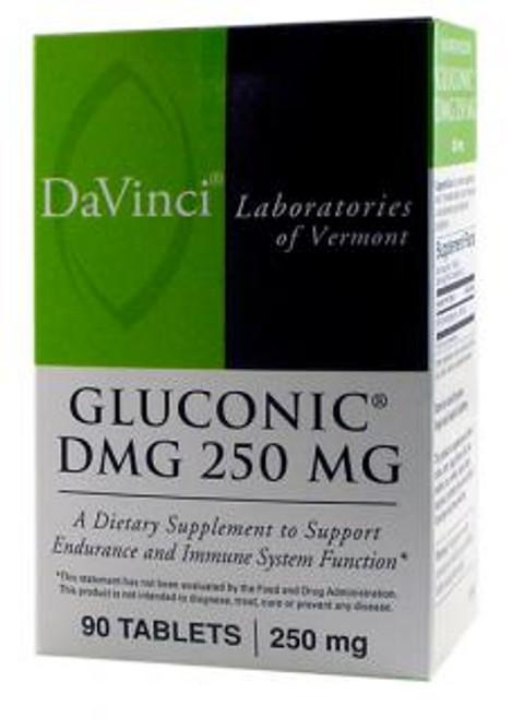 Davinci Labs GLUCONIC DMG 250 MG 90 tablets