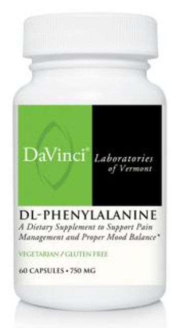 Davinci Labs DL-PHENYLALANINE 750 mg 60 capsules