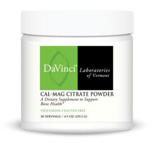 Davinci Labs CAL-MAG CITRATE POWDER 30 Servings 4.9 oz. (139.2 grams)