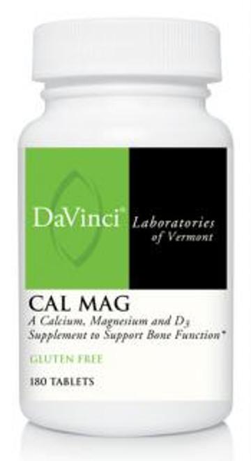 Davinci Labs CAL MAG 180 tablets