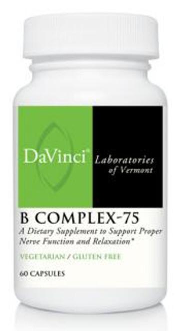 Davinci Labs B COMPLEX - 75 60 capsules