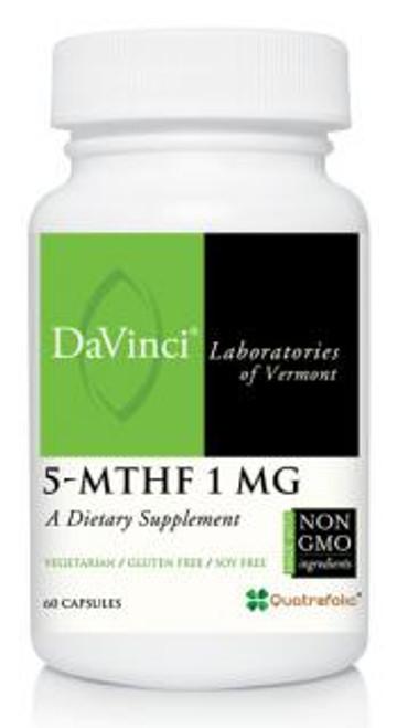 Davinci Labs 5-MTHF 1 MG 60 capsules