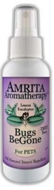 Amrita Aromatherapy Bugs BeGone for Pets 4 fl oz