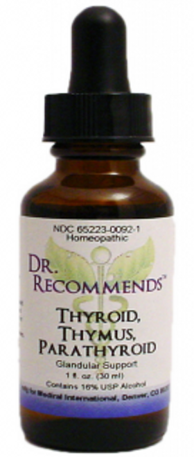 Dr. Recommends Thyroid/ Thymus/ Parathyroid 1 oz